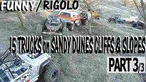 Trail Rigolo Franchissment tout terrain 4x4 6x6 Rc Scale Crawlers Dunes Falaises Pentes de Sable Abbaretz France Part3