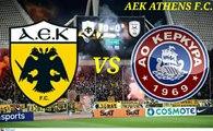 ΑΕΚ - Κέρκυρα 5-0, 28η αγωνιστική (Γκολ) - 09-04-2017