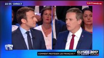 Macron pris en flagrant délit