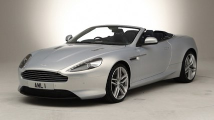 Aston Martin Virage - exclusive video