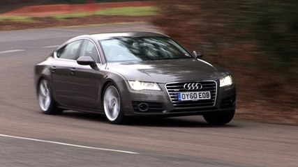 Audi A7 90sec video review verdict