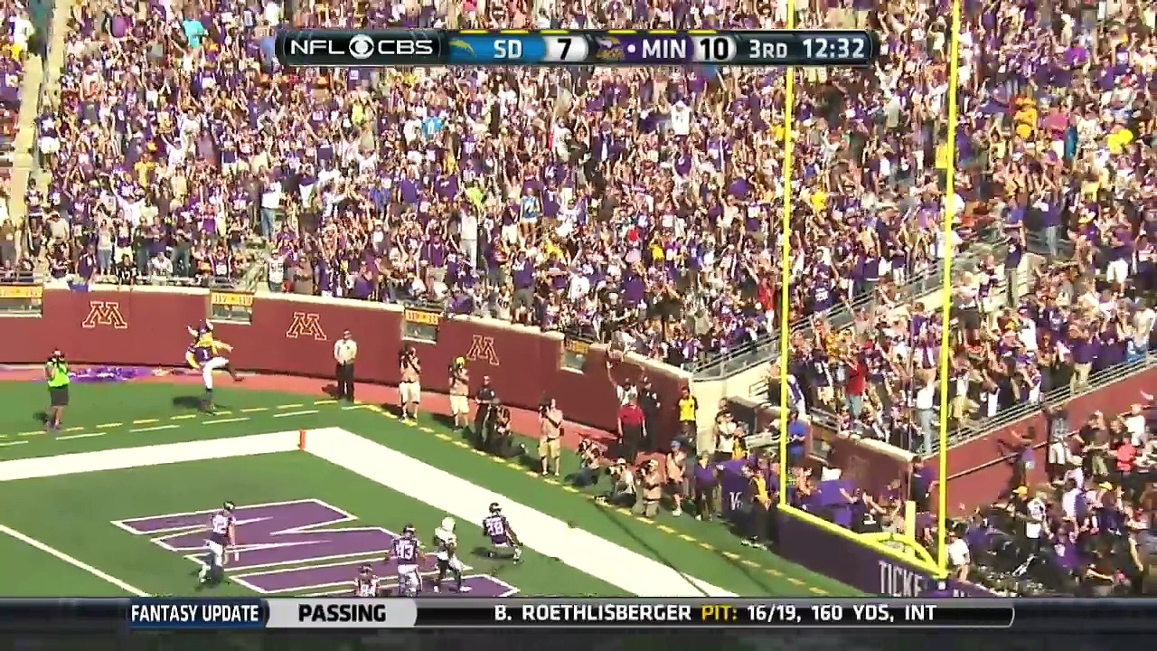 Adrian Peterson Highlights (Week 3) | Chargers vs. Vikings | NFL http://BestDramaTv.Net
