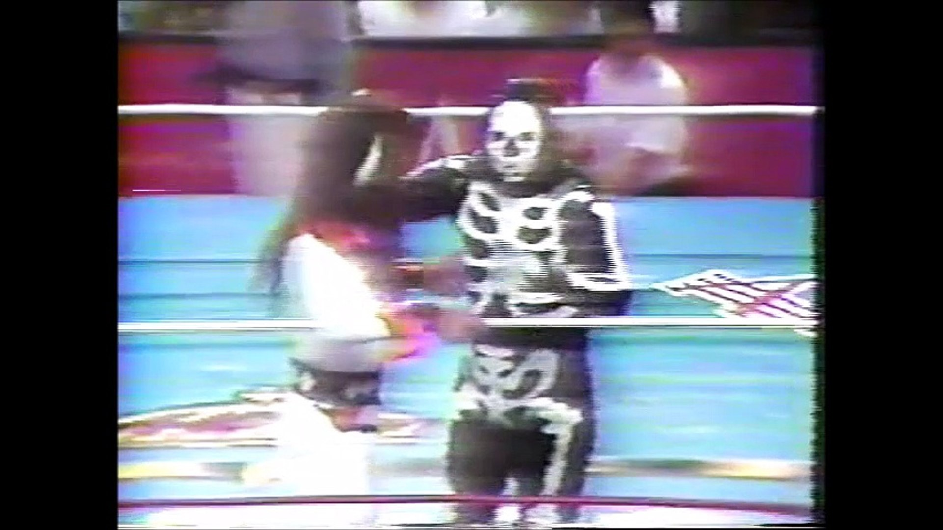 Psicosis/Heavy Metal/La Parka vs Eddie Guerrero/Rey Misterio Jr/Lizmark (AAA February 28th, 1993)