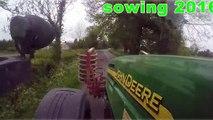 John Deere Tractors Sowing Birdseed | John Deere 7920 John Deere Tractors