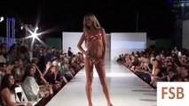 Fashion Swimgeles Swim Week Spring 2016.Sexy girls show.