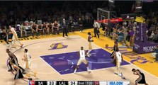 NBA 2K17 Kawhi Leonard & Spurs Highlights at Lakers 2017.02.26
