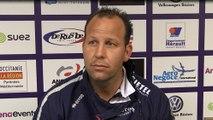 J27 PRO D2 - Après match ASBH - Montauban : réaction de David Aucagne