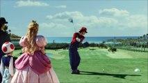 La publicité Suntory avec du Mario Sports Superstars