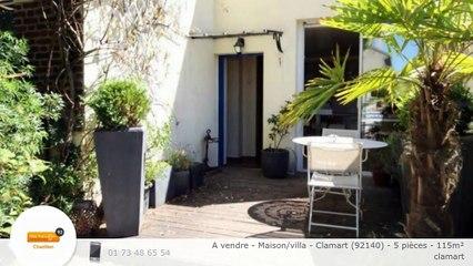 A vendre - Maison/villa - Clamart (92140) - 5 pièces - 115m²