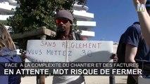 Les salariés de MDT s'invitent au siège de la SNI