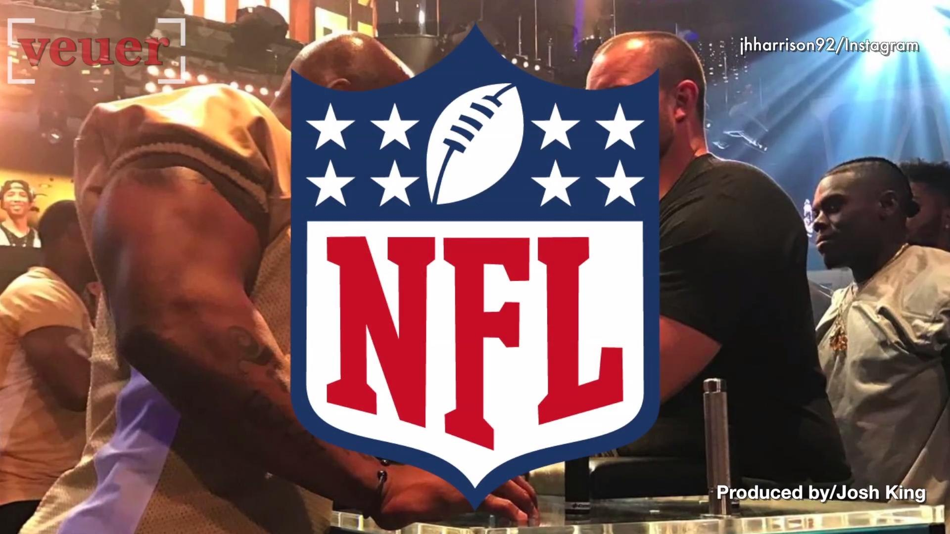 The NFL May Fine Players Over Arm Wrestling Event