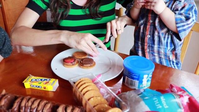 FOOD PRANK! McDonald's APRIL FOOLS Joke Idea FAKE Hamburger French Fries Funny Kids