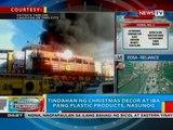 BP: Tindahan ng Christmas decor at iba pang plastic products sa Cagayan de Oro City, nasunog