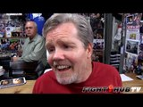 Freddie Roach lists James Toney as the most talented fighter he ever worked with