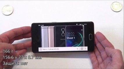 Обзор Doogee Shoot 1, смартфона с лишней камерой
