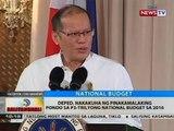 BT: DepEd, nakakuha ng pinakamalaking pondo sa P3-trilyong national budget sa 2016