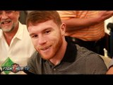 """Canelo Alvarez doesn't regret inviting Golovkin to ring after Khan fight & making """"mamadas"""" comment"""