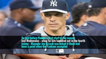 So just before Pineda's first start of the season last Wednesday — when he was knocked out in the fourth inning — Manager Joe Girardi was asked if there had been a point when the Yankees accepted