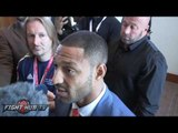 """Kell Brook """"Going to need everything I've learned from everyone to beat Golovkin!"""""""