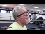 Freddie Roach feels Anthony Joshua will be best heavyweight in a year; Says Klitschko might be done