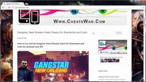 Get Gangstar New Orleans Cheats on Diamonds and Cash - Android and iOS