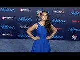 "Auli'i Cravalho AFI FEST ""Moana"" Premiere Blue Carpet"