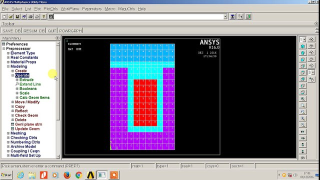 MAGNETIC ANALYSIS USING ANSYS MECHANICAL APDL
