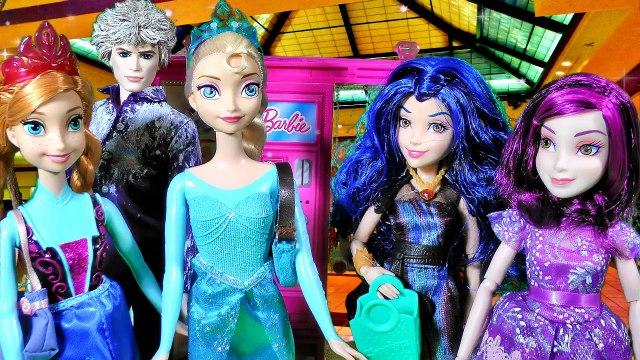 Disney Frozen Queen Elsa Anna Doll Shop Barbie Vending Machine Shopkins Season 2 & 3 Toys