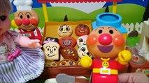 メルちゃん ごっこ遊び アンパンマン おもちゃ ジャムおじさんのパン工場★子供向け お世話 おもちゃ アニメ キッズ 寸劇 トイキッズ Toy anpanman