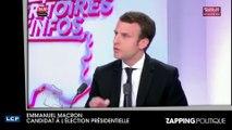 Zap politique 11 avril - Emmanuel Macron, François Fillon, Jean-Luc Mélenchon : clashs tous azimuts (Vidéo)