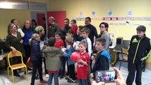 Nicolas Benezet à la rencontre des enfants du centre de réeducation de Trestel
