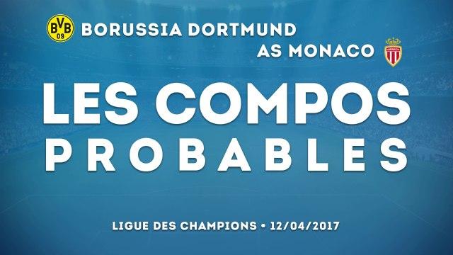 Borussia Dortmund-AS Monaco : les compos probables