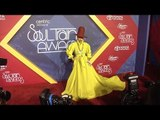 Erykah Badu 2016 Soul Train Awards Red Carpet