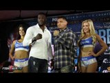 Deontay Wilder vs. Chris Arreola COMPLETE FACE OFF VIDEO- Wilder vs. Arreola video