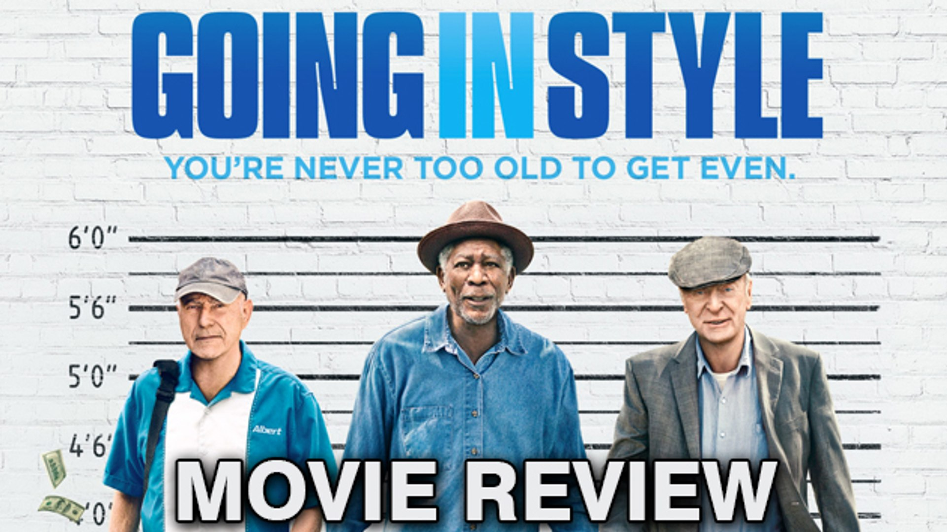 Going In Style Movie Review | Morgan Freeman, Michael Caine