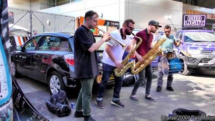 London Great Street Musci Band Heard in Shoreditch