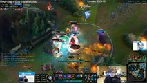LoL Funny Pro Streamer Moments #19 When Faker want to give up (League of Legends)