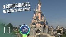 9 curiosidades de Disneyland París