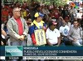 Conmemoran revolucionarios golpe de Estado contra Hugo Chávez Frías