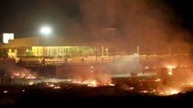 Flüchtlingslager in Frankreich durch Großbrand zerstört