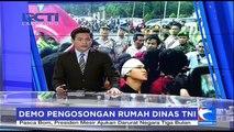 Putra-Putri Purnawirawan Unjuk Rasa Tolak Serahkan Rumah Dinas