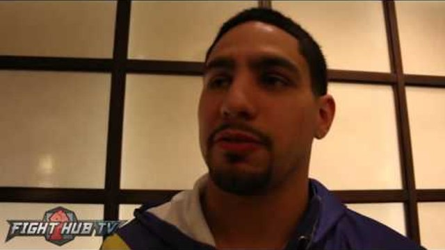 "Danny Garcia on Canelo vs. Golovkin ""It's not gonna happen, Canelo is smaller, its a disadvantage"""