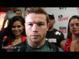 """Canelo Alvarez to Golovkin """"At 25 I've faced the best in the world. Look who he just faced!"""""""