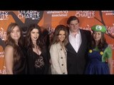 Maria Shriver with Family at Hilarity for Charity's 5th Annual LA Variety Show