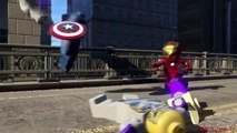 Lego Marvels Avengers Thor & Hulk Take Down a Chitauri Leviathan 'The Avengers'