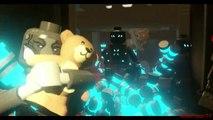 Lego Marvels Avengers Black Widow's Nightmare Scene 'Avengers Age of Ultron'