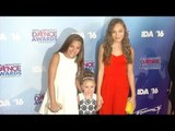 Mackenzie, Natalya, Maddie Ziegler 2016 Industry Dance Awards Red Carpet