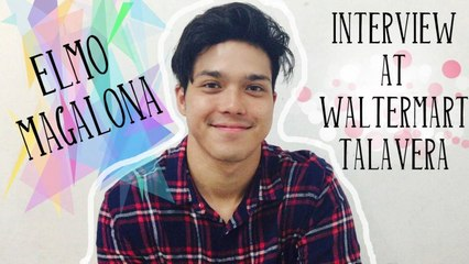 Elmo Magalona - Interview at WalterMart Talavera (04/01/17)