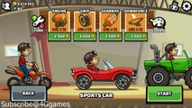 Hill Climb Racing 2 - Fully Upgraded Formula One Car in More Mines Racing Games for kids