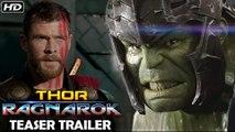Thor: Ragnarok Teaser Trailer [HD]   Official Teaser   Chris Hemsworth, Mark Ruffalo, Tom Hiddleston, Cate Blanchett